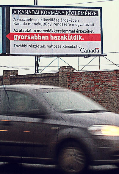"""Canada will not send its refugees to Miskolc"""